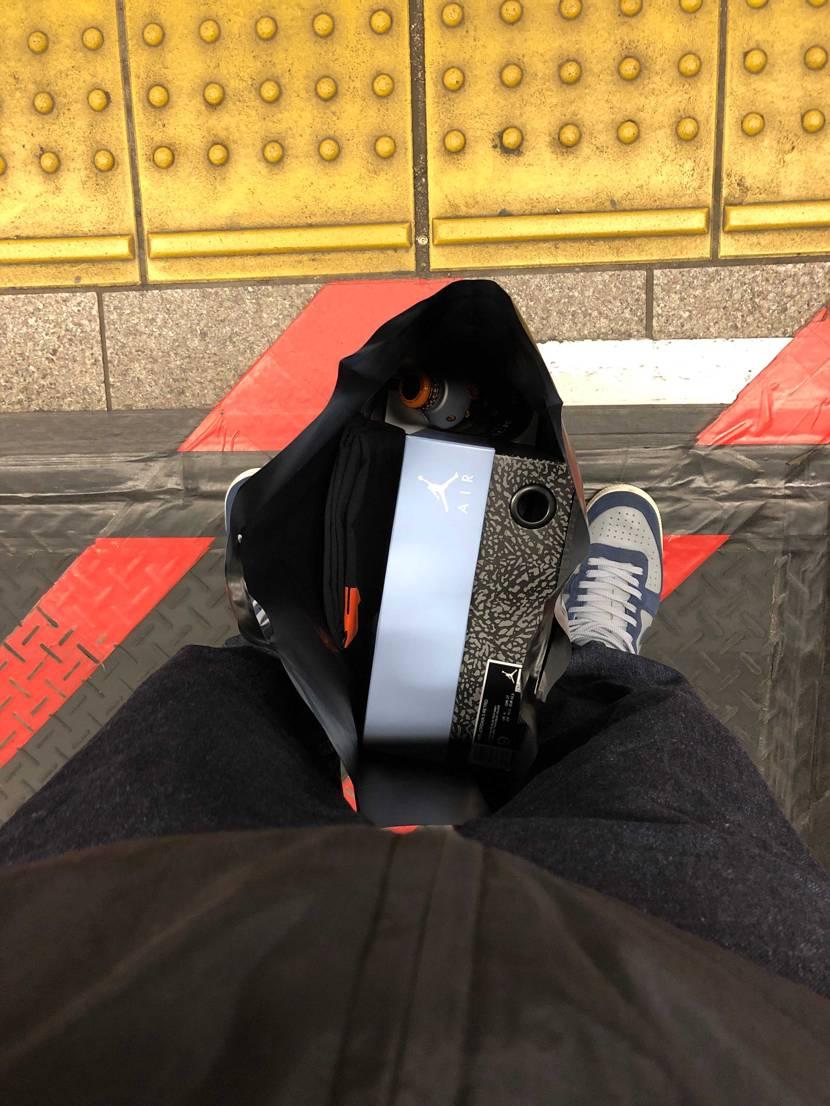 横浜のundでマイサイラス1だったんで取り置きして買えました🤤 sup×af1