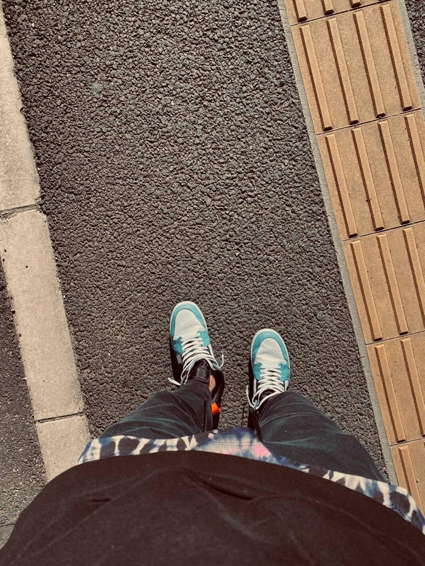 最近買ったので1番です。履き潰します。