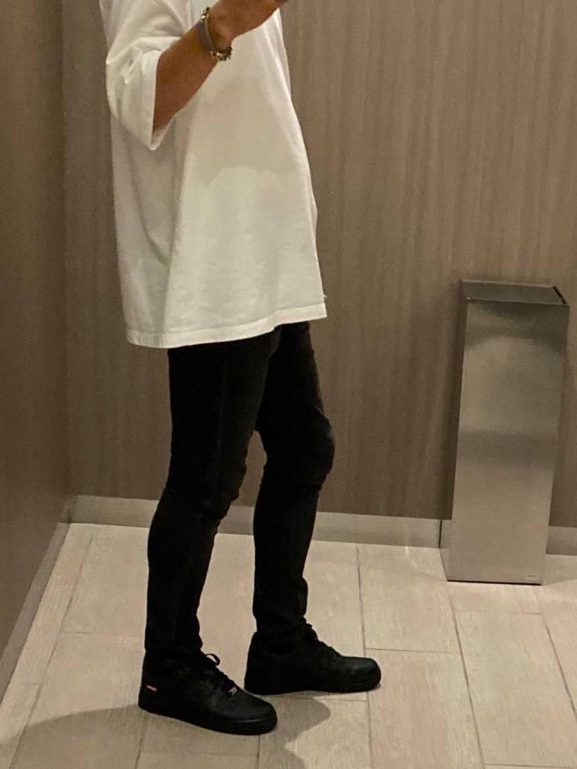 やっと履けてよかったー!再販で白も欲しかったなぁ。。。