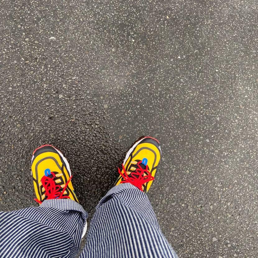 雨の日の靴  the Apartment New Balance ML80