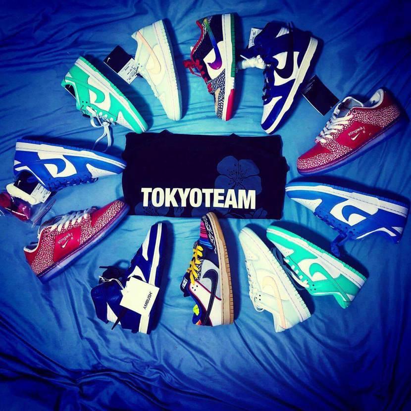 Dunk 🖤 &Tokyo Team🇻🇳