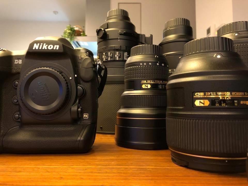 今日は1日、趣味のスニーカーとカメラのメンテナンス モノを