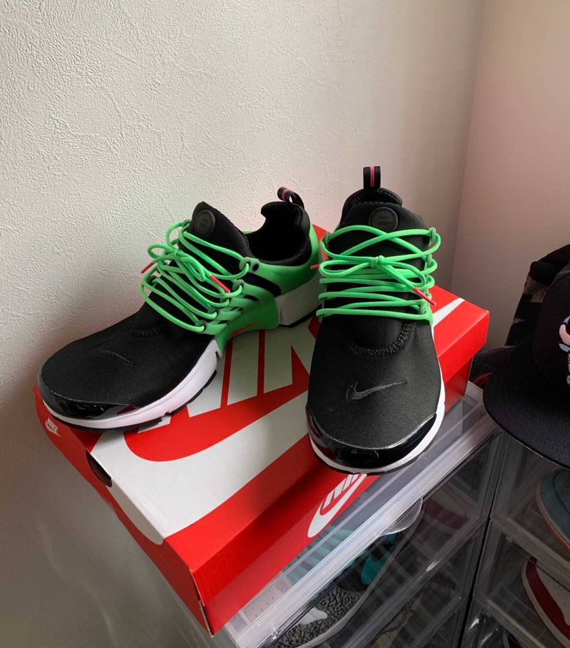 Nikeのセールで一昨日買ったエアプレストがもう届きました! 懐かしい✨20年
