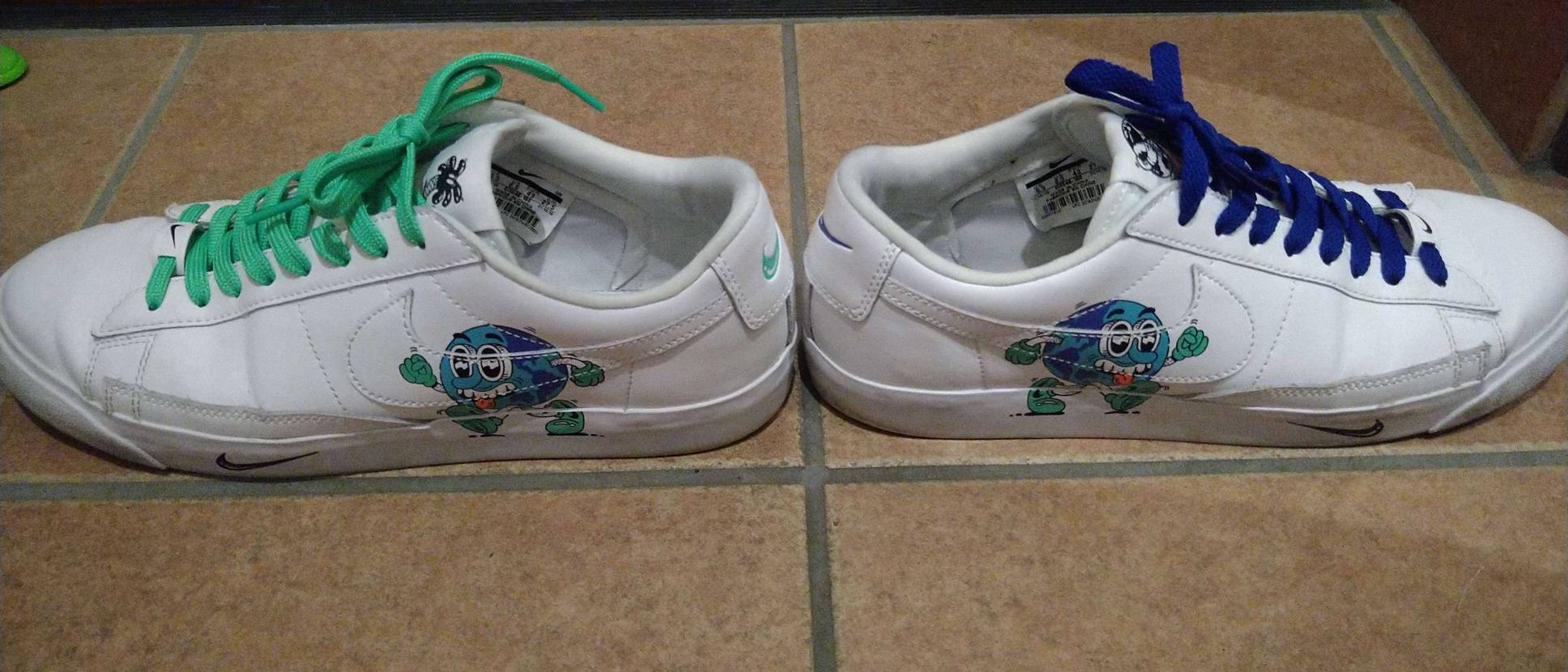 この靴は私的にかなりお気に入りです☆ 気分転換に、シューレス