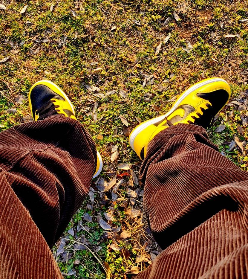 黄色が明るくて派手やけどこれからの季節に良いですね🤩 子供用も🐿️拾えたんでもう