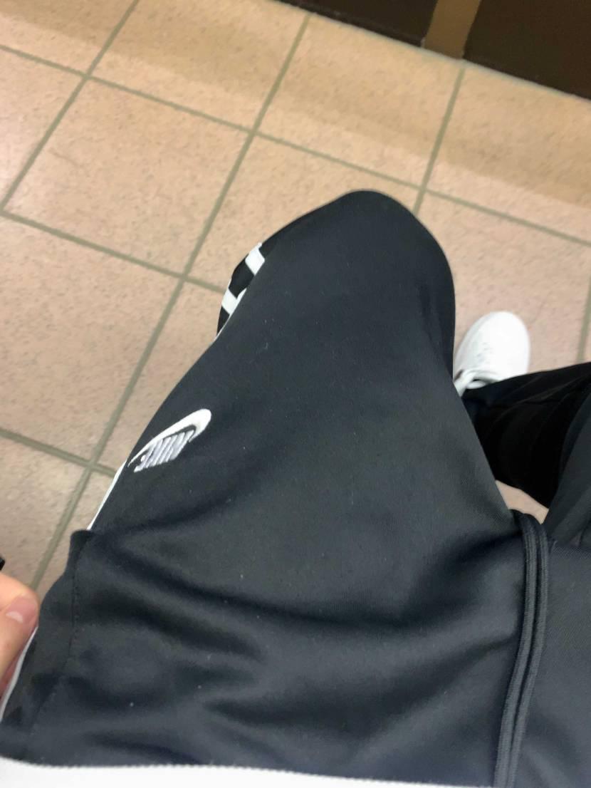 去年買ったNIKEのトラパン久々履いた。今日昼間暑かったー。 トラパン履きたい