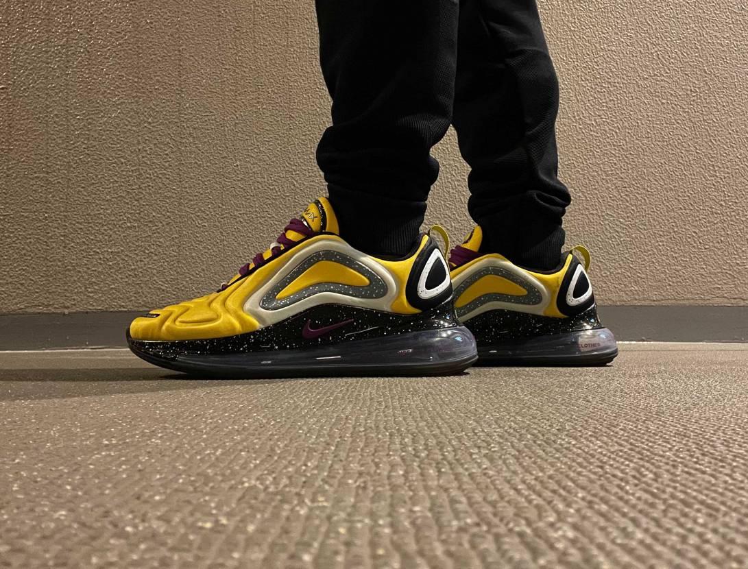 今日のバイト靴は720。 スポーツショップでバイトするようになってから色んな靴