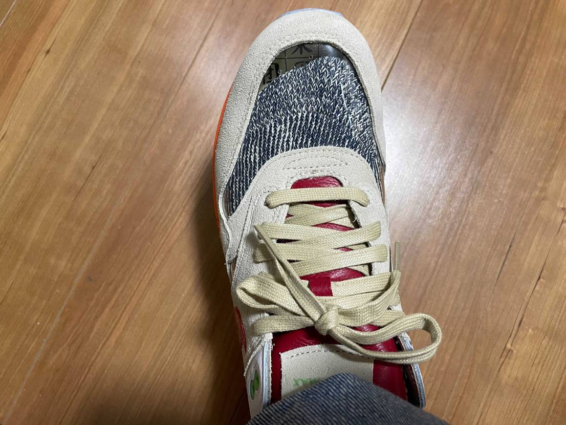 五本指ソックスしかないので、KOD用に靴下探索してきました! 妻が笑いながら買