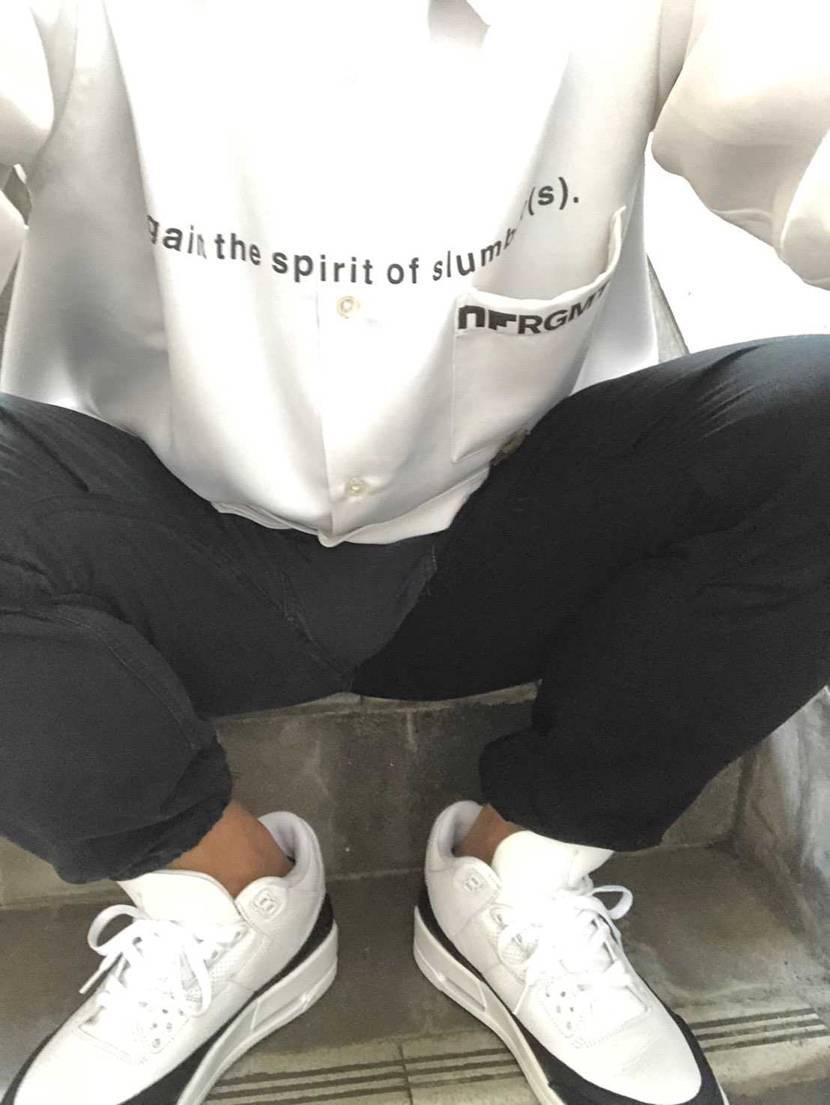 初履き。 シャツなどにもしっかりくるし、モノトーンコーデでもバッチリ。これは重