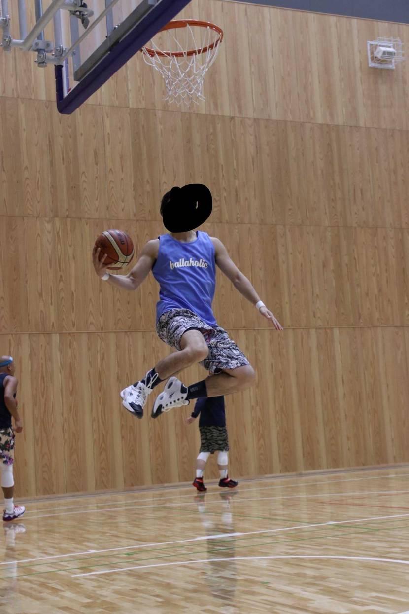 バスケの試合で撮ってくれてました📷スニーカーまで!