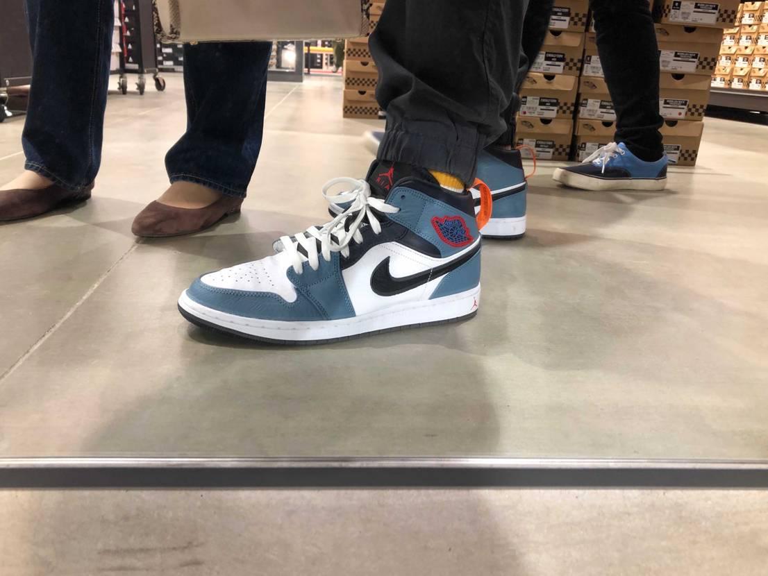 お気に入りの靴😎 ABCマートで足元パシャリ📸