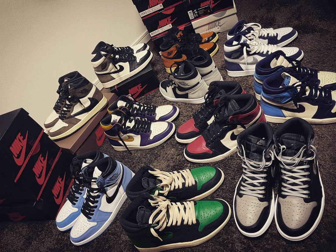 jordan1コレクション インスタの方にもスニーカー、ストリートファッション