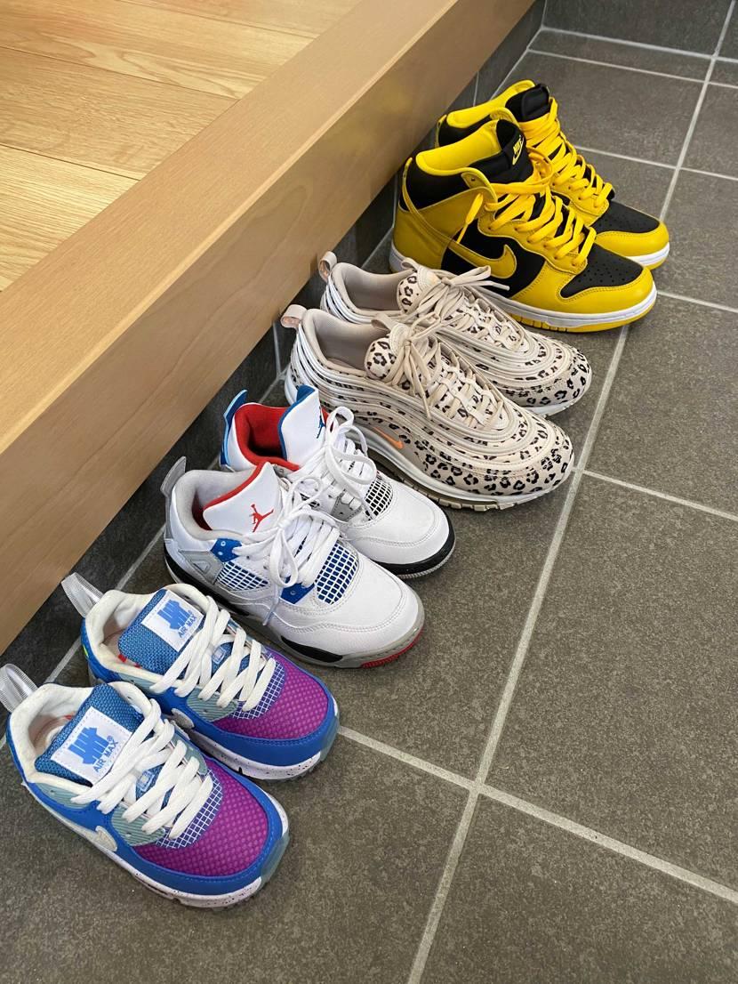 本日の我が家 part3  Nike Dunk High SP Varsit