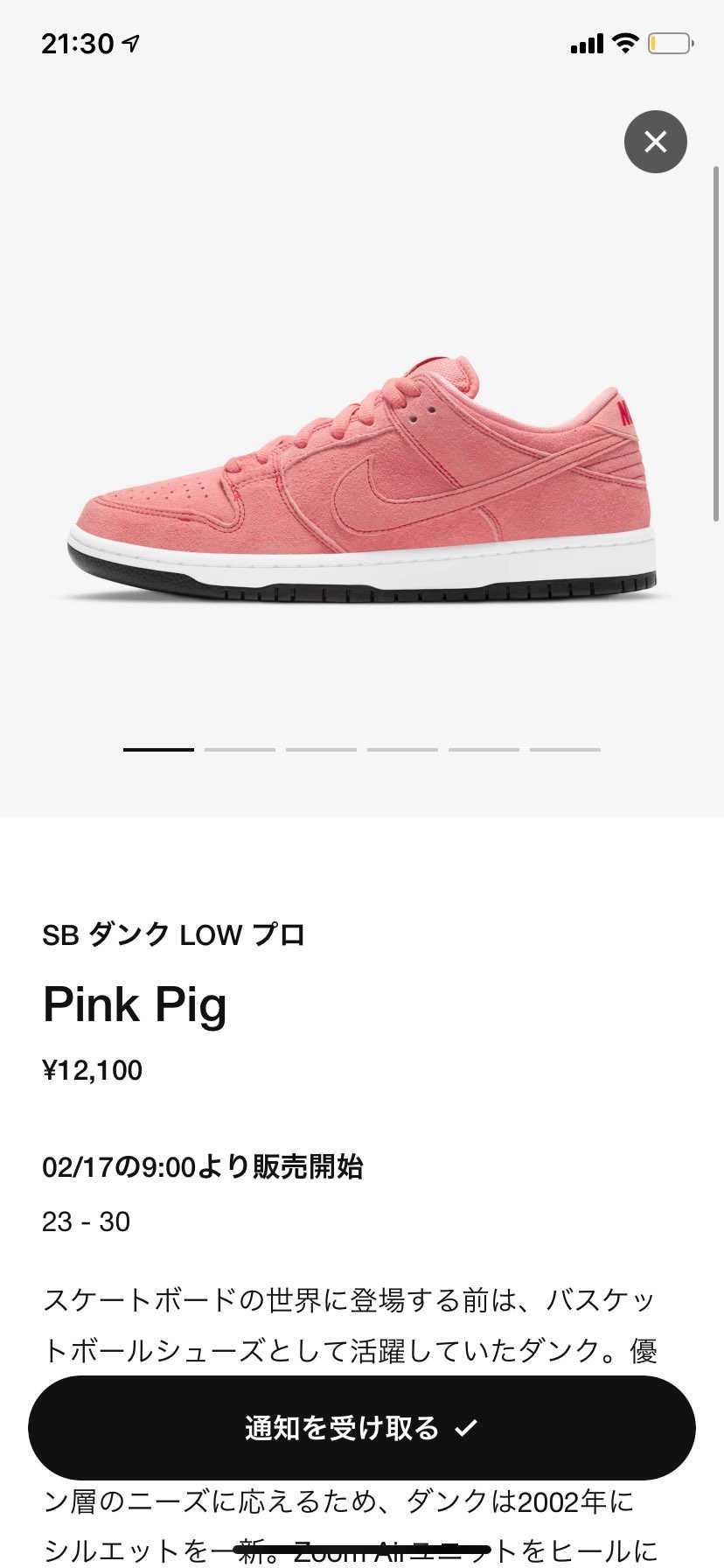 2/17 9:00 SNKRS & Nike App