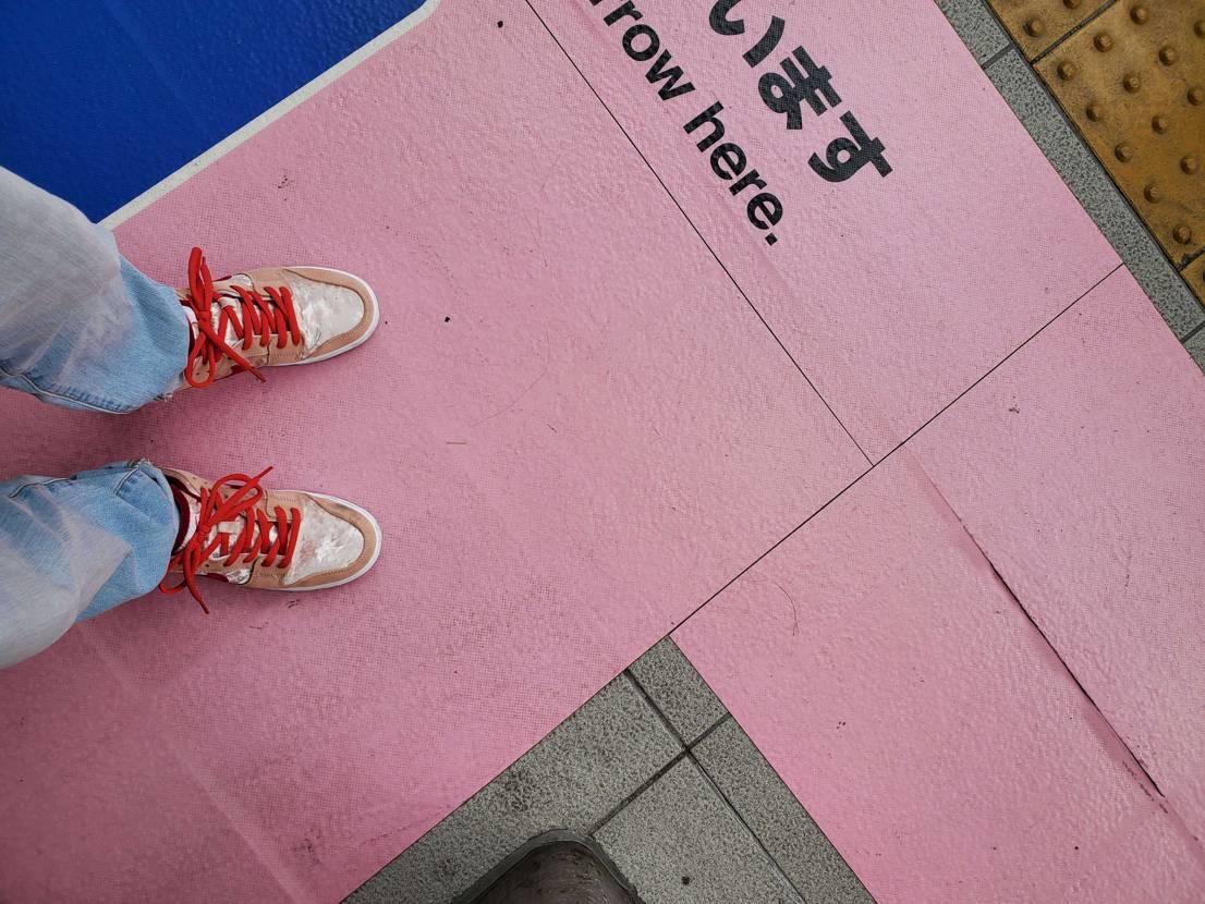 渋谷パルコに アパレルの袋有ったよ🎵