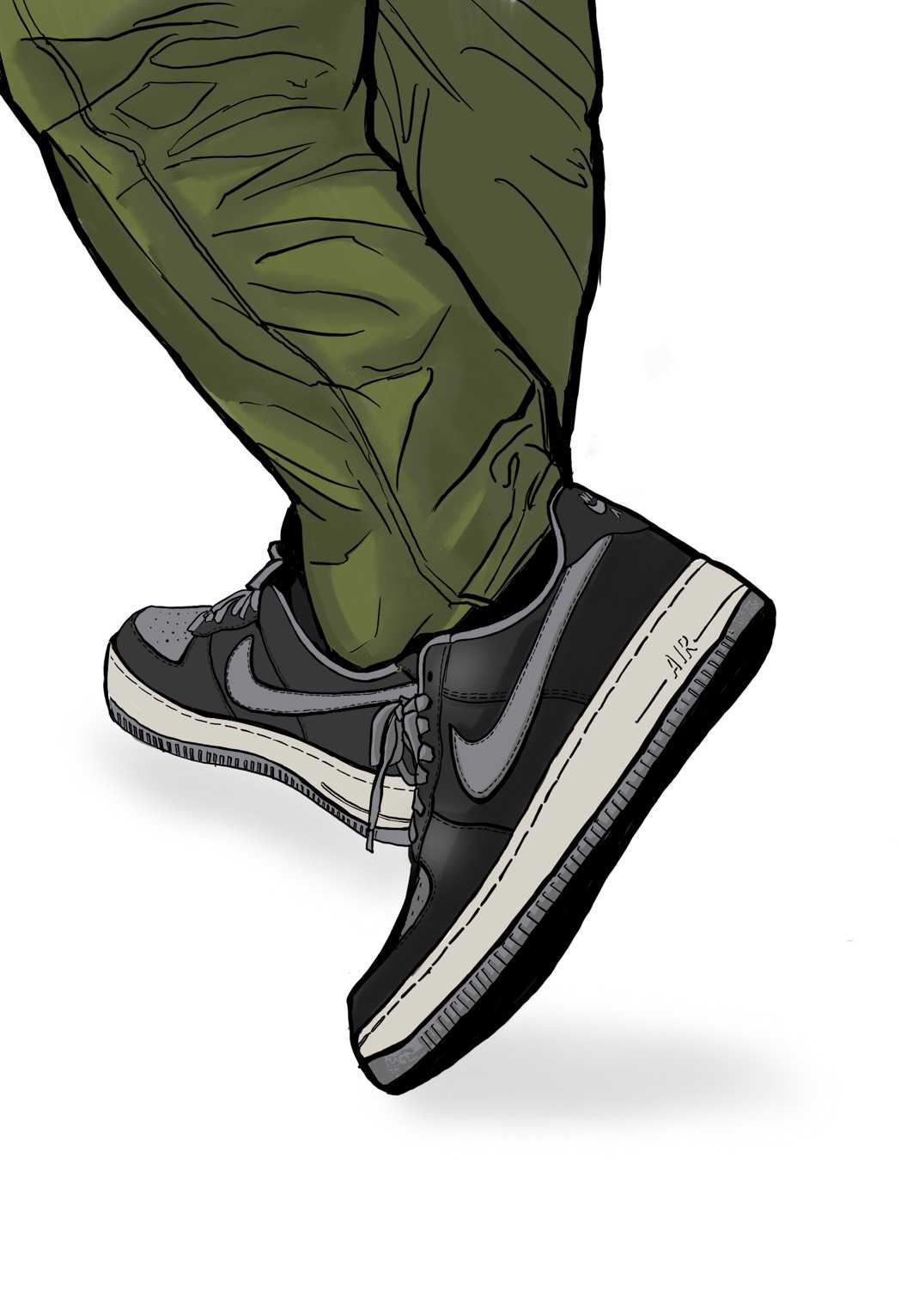 AIR Force1 by youアンロックド