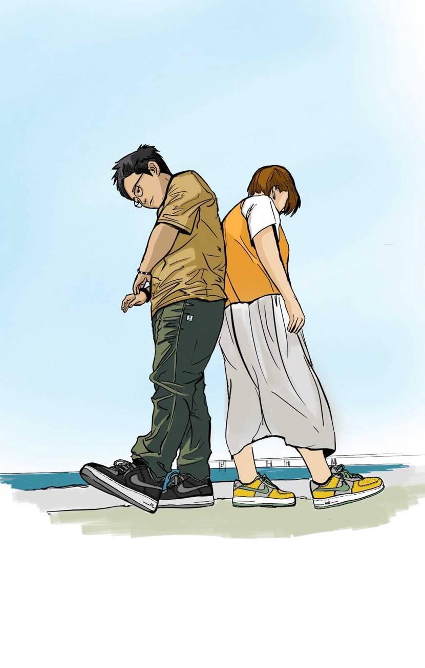 saburo師匠に、嫁とby youアンロックド購入記念のイラストを描いて頂きま