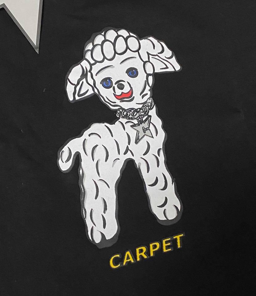 carpetからTシャツが届いた👕 可愛いw やっぱりcarpetダンク欲し