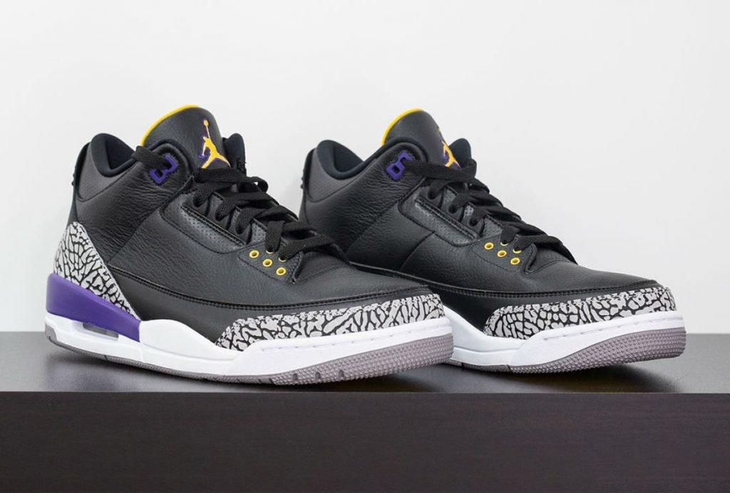"""Air Jordan 3 """"Lakers"""" / """"Court Purple"""""""