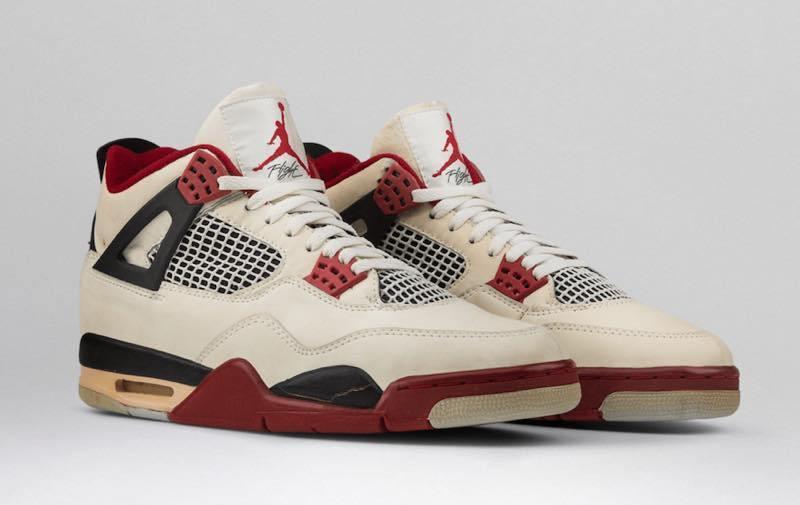 Nike Air Jordan 4 Fire Red 11/27予定らしい、半