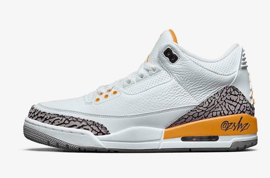Nike Air Jordan 3 Retro Laser Orange 最近