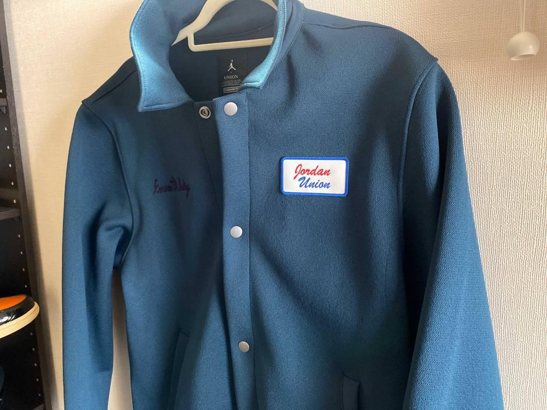 Unionのコーチジャケット届いた 色は美しいわ思ったより肉厚だわで良い意味で