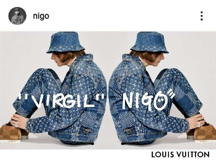 VIRGILとNIGOのLV!画像きてます🤓