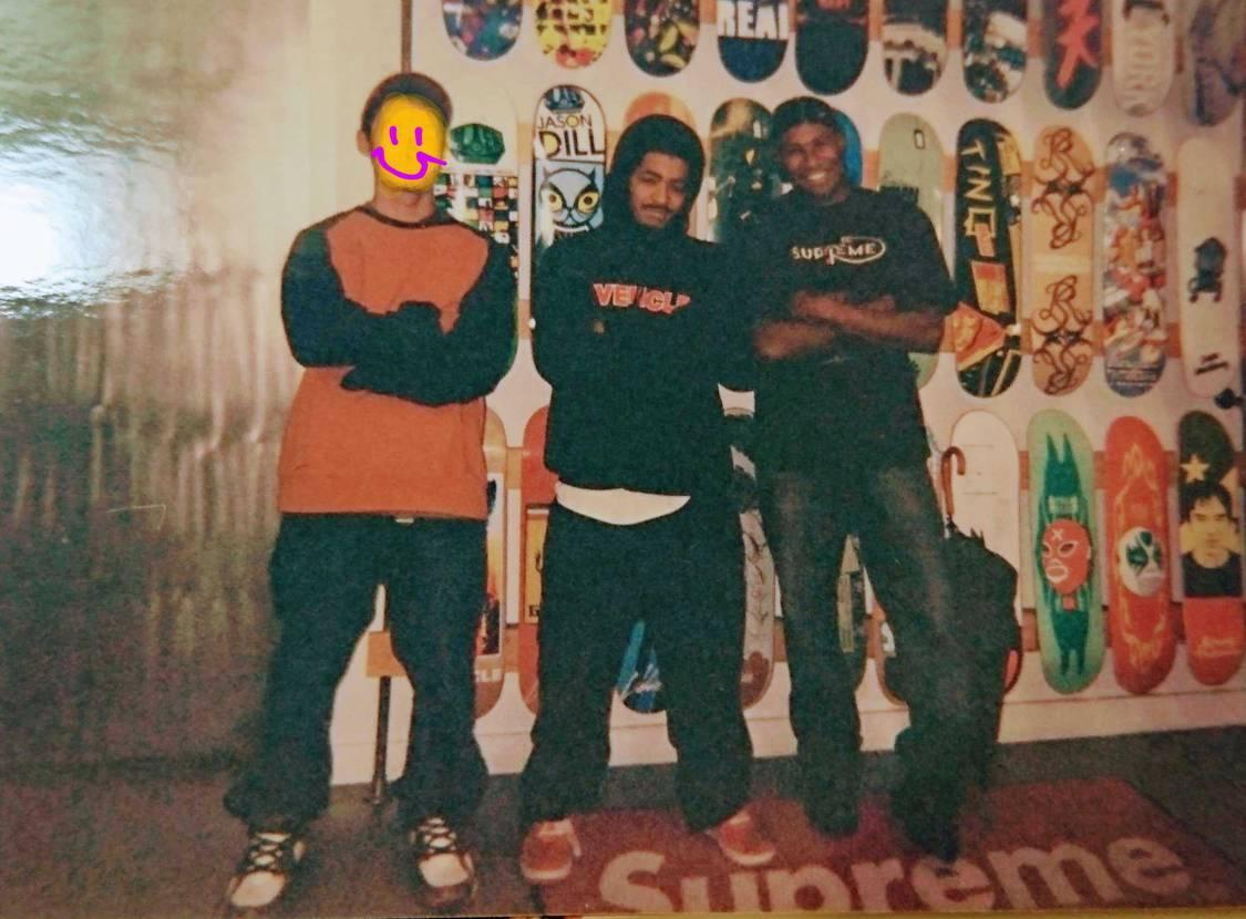相当懐かしいのが…(15年位) SupremeNYクルーとつるんでいた頃の写真