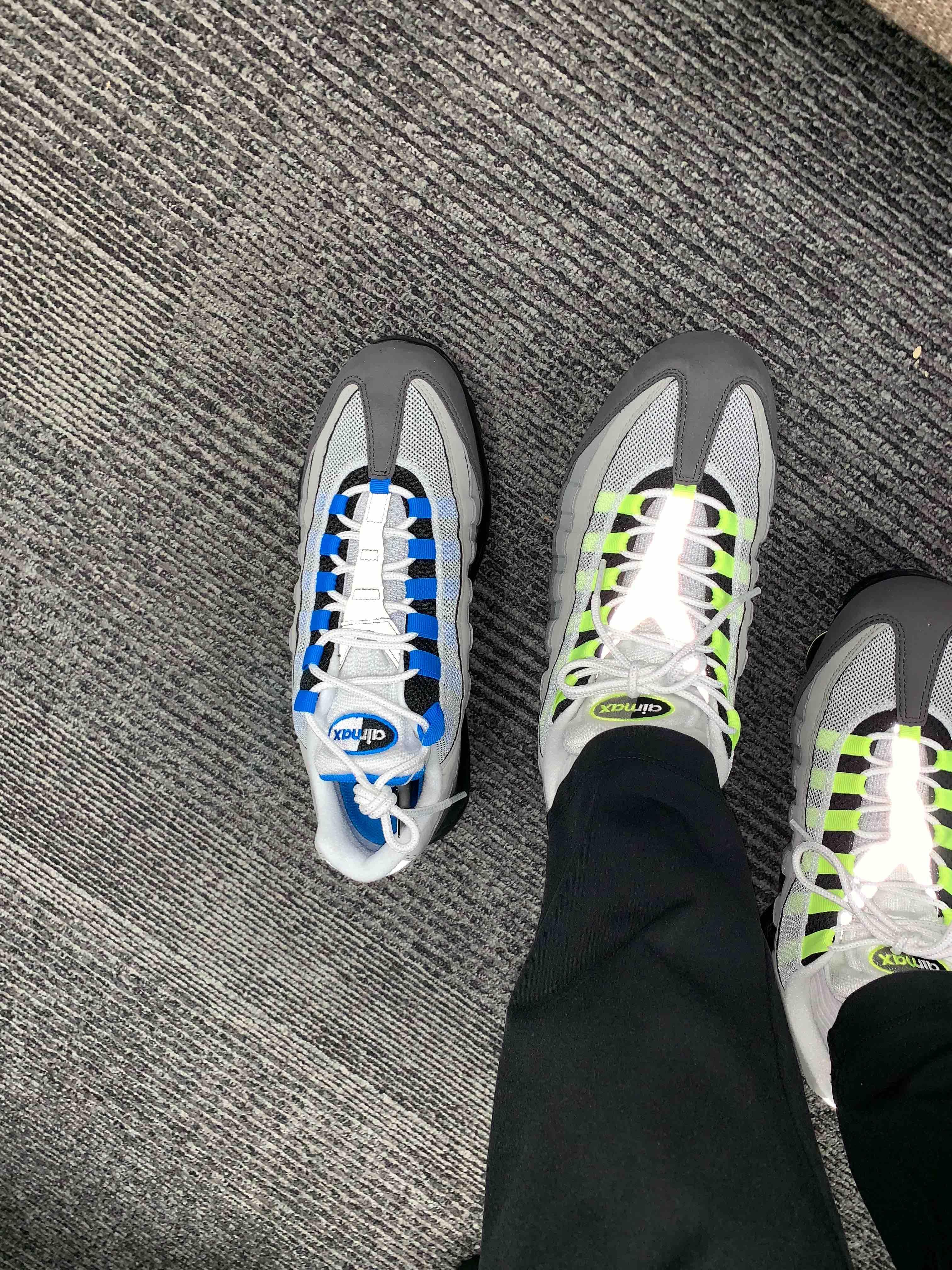 95履いて95買いに行きました笑 #nike #snkrdunk #airma
