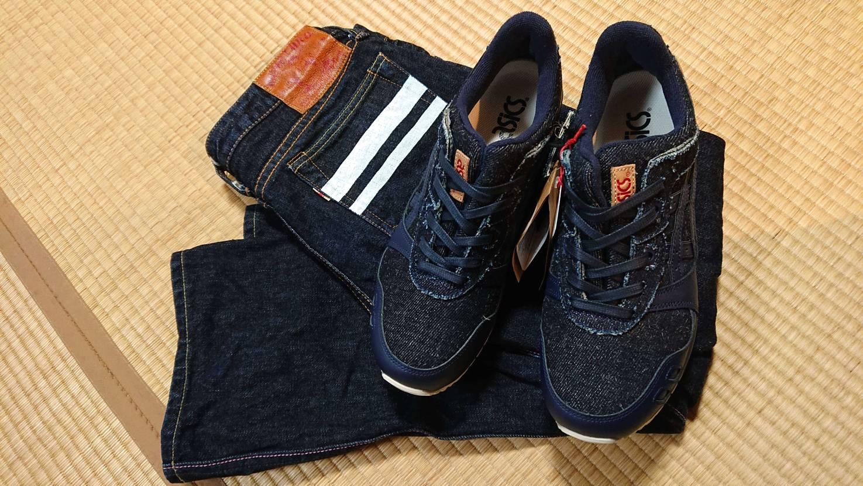 ゲルライト3の岡山デニムもご紹介👖 アメカジ好きやジーンズ好