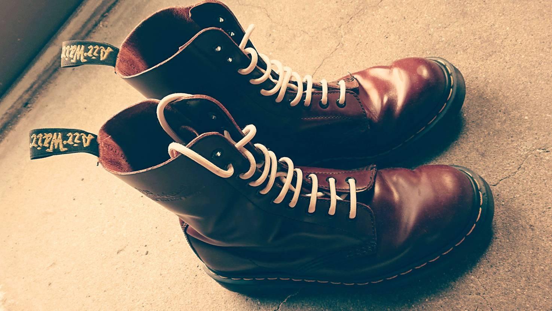 今日から10ホールちゃん登板🥾 冬場にこそ履きたい靴多過ぎて困りますね😅