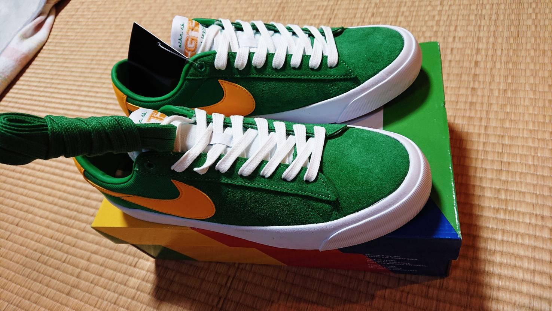 ブラジルブレーザー届きました✨そして虹箱🌈 いやー思てたとうりのグリーンの色合い