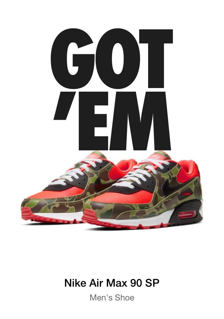 Nike Air Max 90 SP / Duck Camo Got'em!!