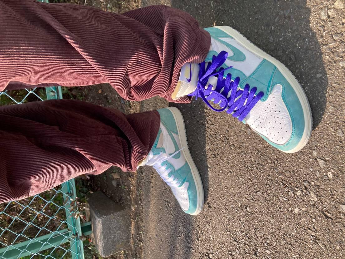 やっぱり可愛くて大好き過ぎるけど 靴紐どうするか永遠に悩む🙃