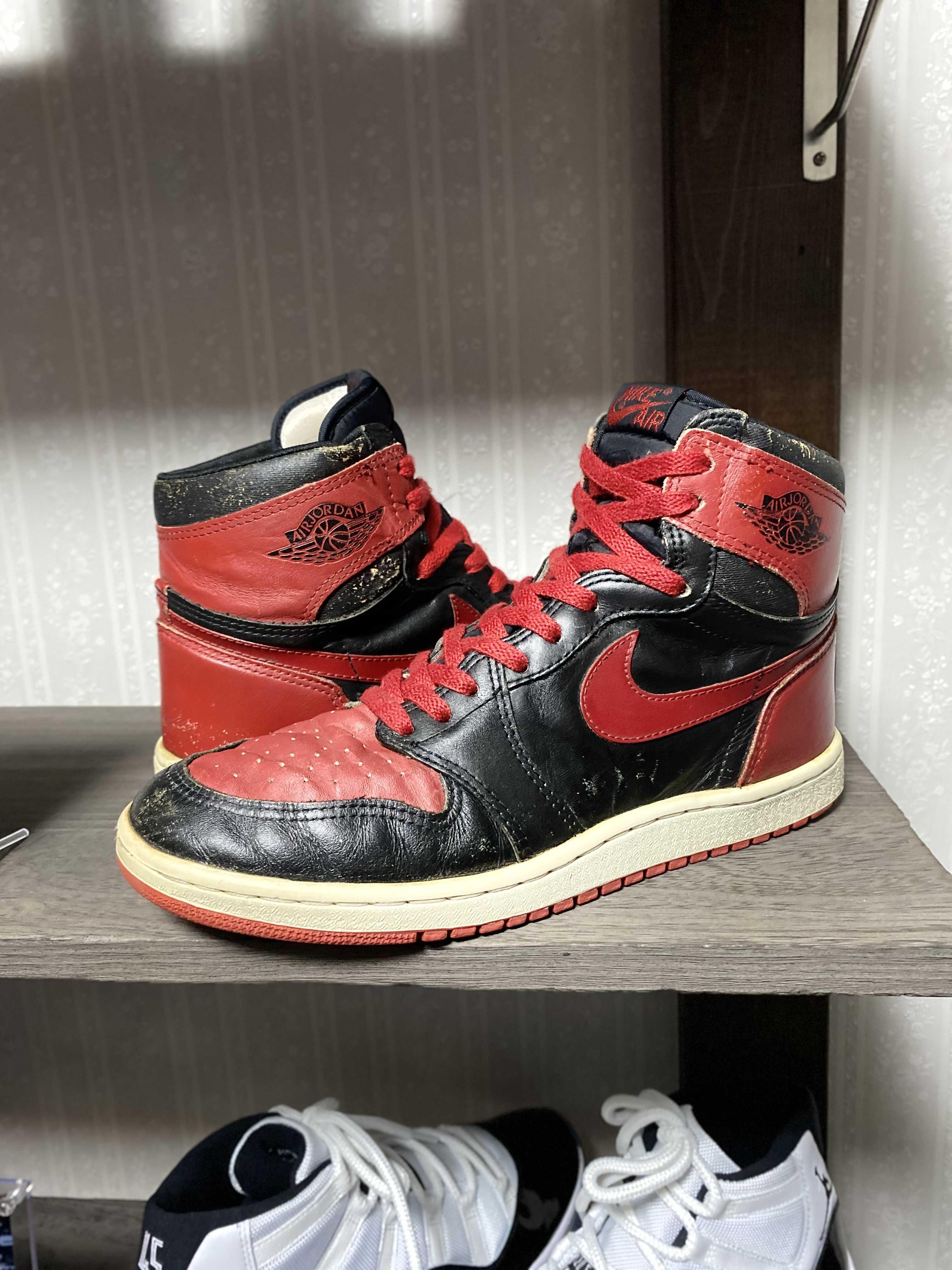 AIR JORDAN HIGH BLACK/RED