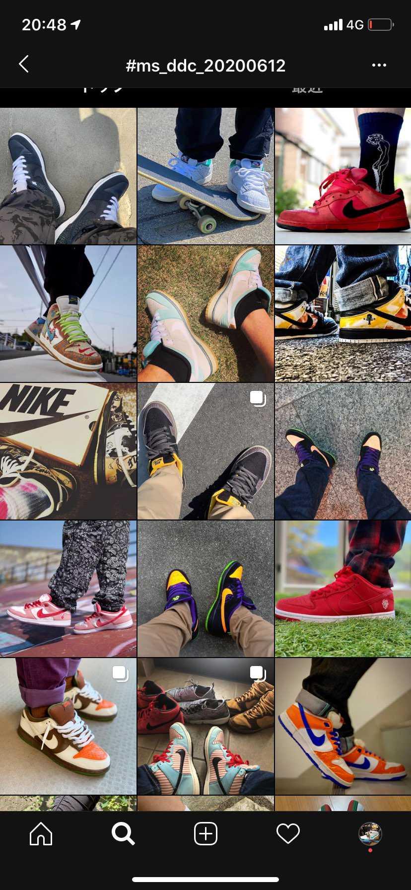 ミタ的にはセーフなんですかね。つい最近発売された靴は少し違うような気がしますが。