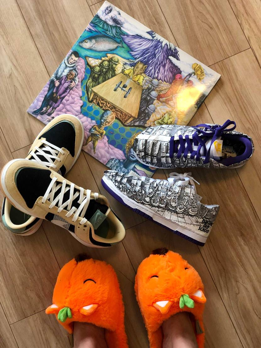 🥨have a Nike day✔️🦊🌈🤎💜🤍