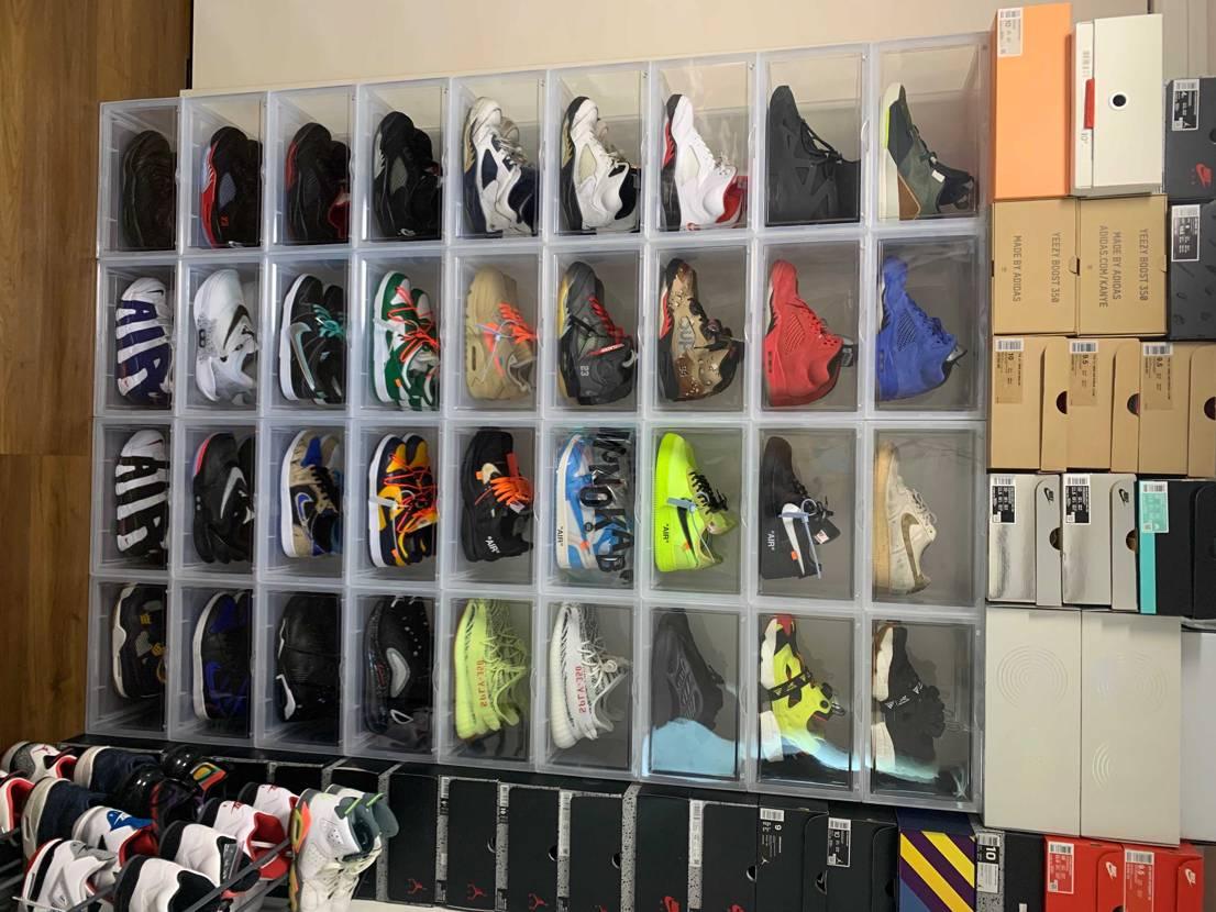 靴箱整理して換気しました。