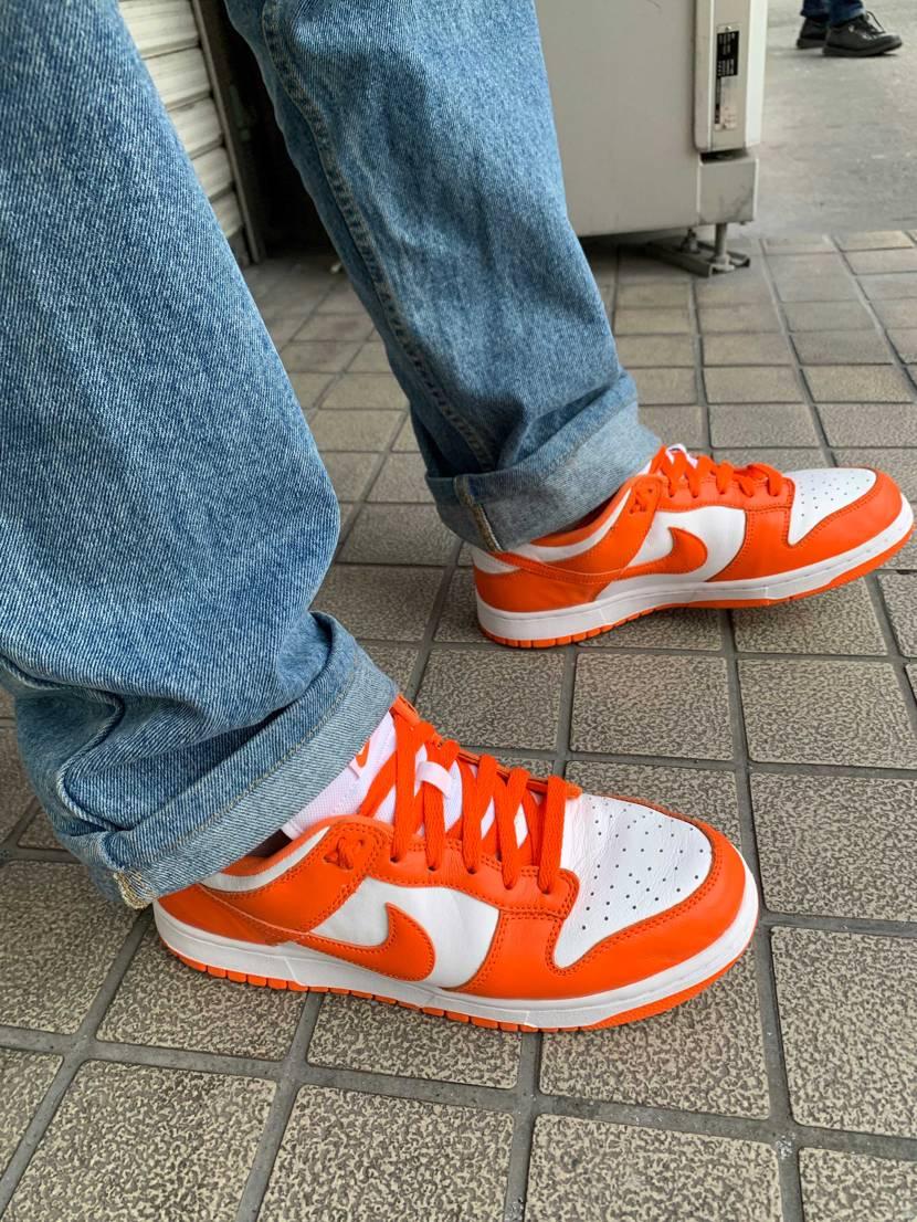 "Nike Dunk Low ""Syracuse""  パンチの効いたオレンジ!"