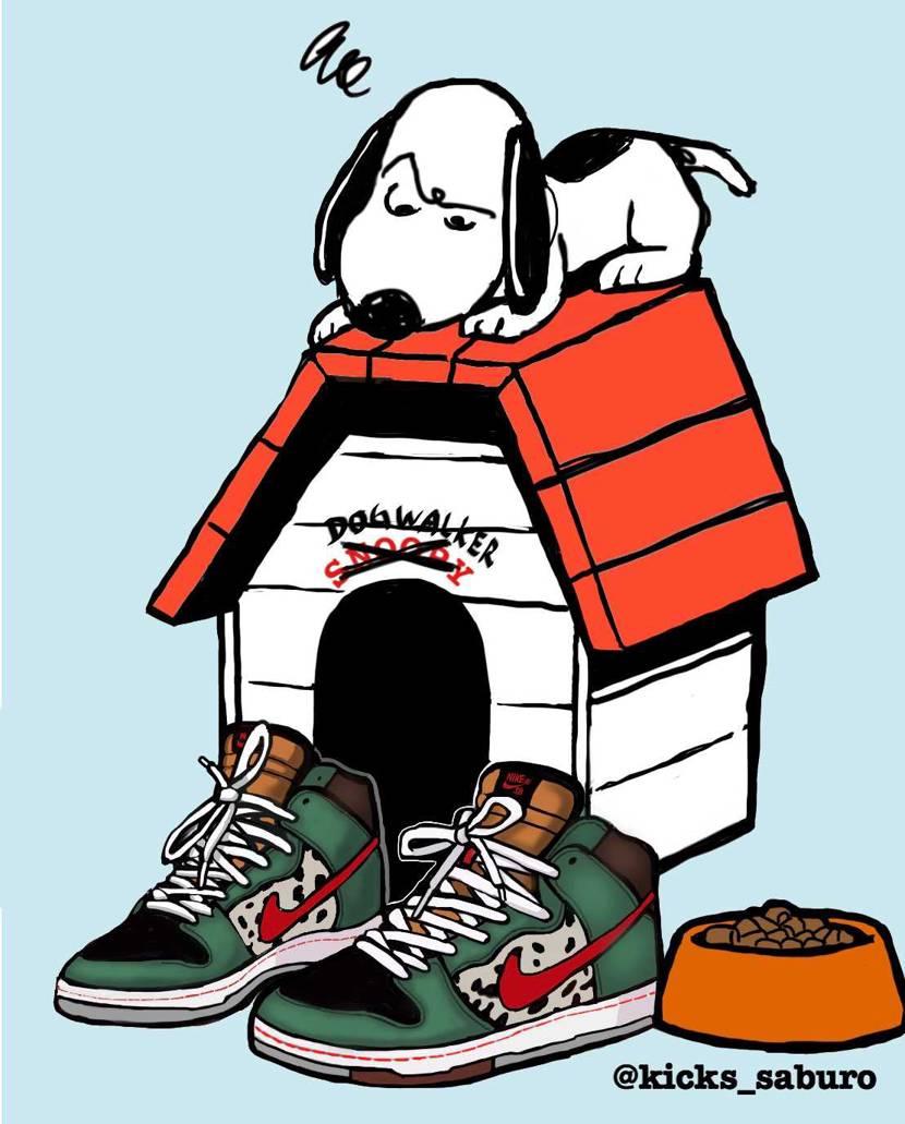 "NIKE DUNK SB ""DOG WALKER"" x SNOOPY.  【"
