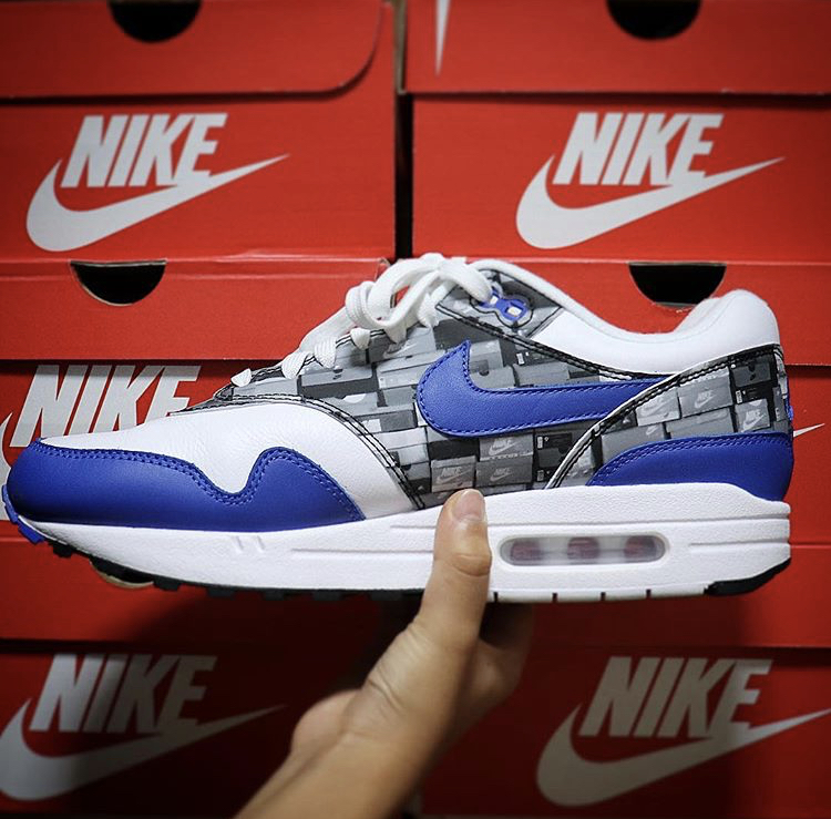 atmos × NIKE Air Max 1 We Love Nike