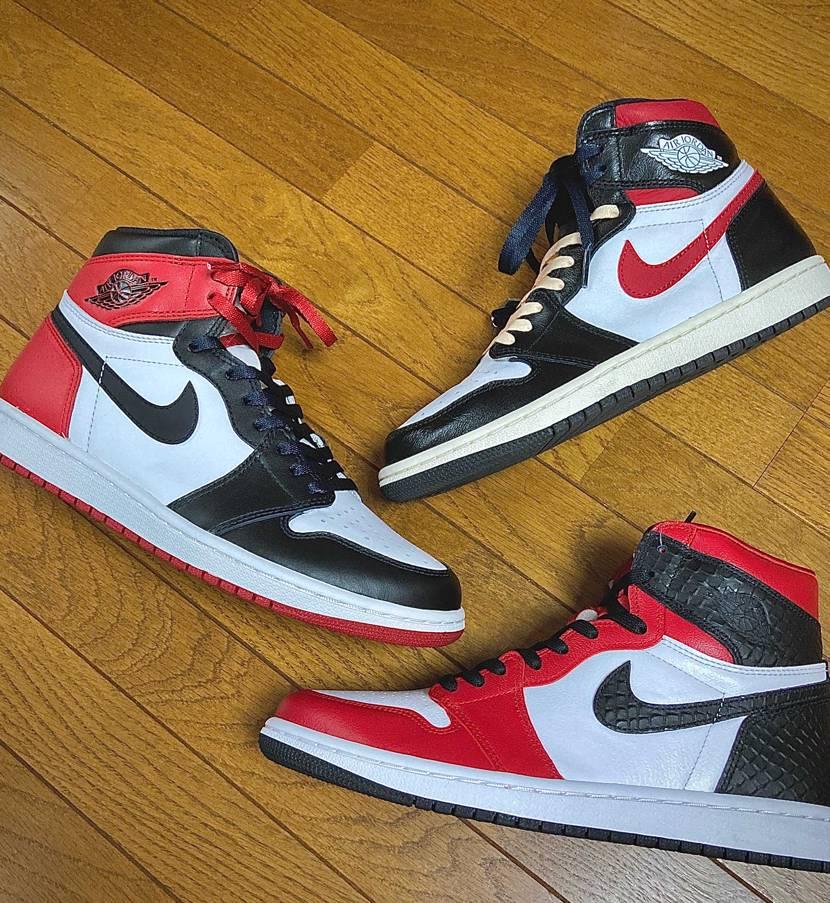 赤、白、黒のカラーリングは最高ですね🤩