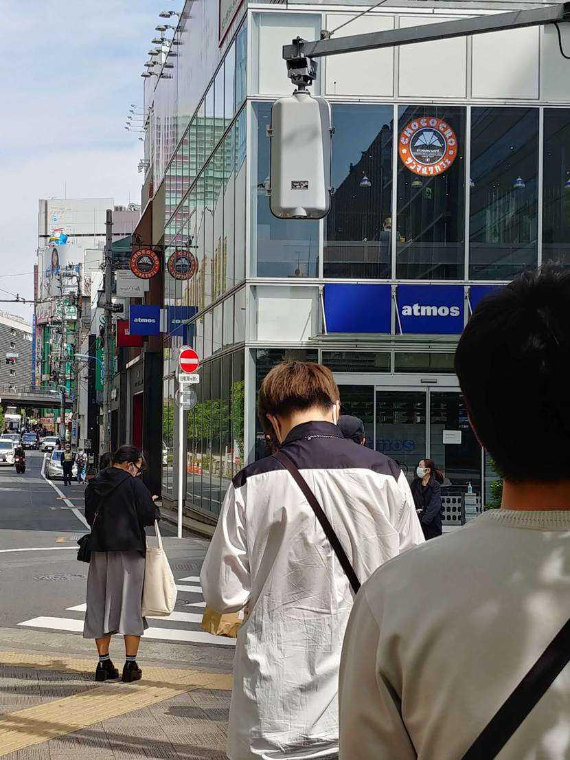 今日はアトモス新宿までエアフォース1ペイズリーを買いに行って来ました!並びは当初