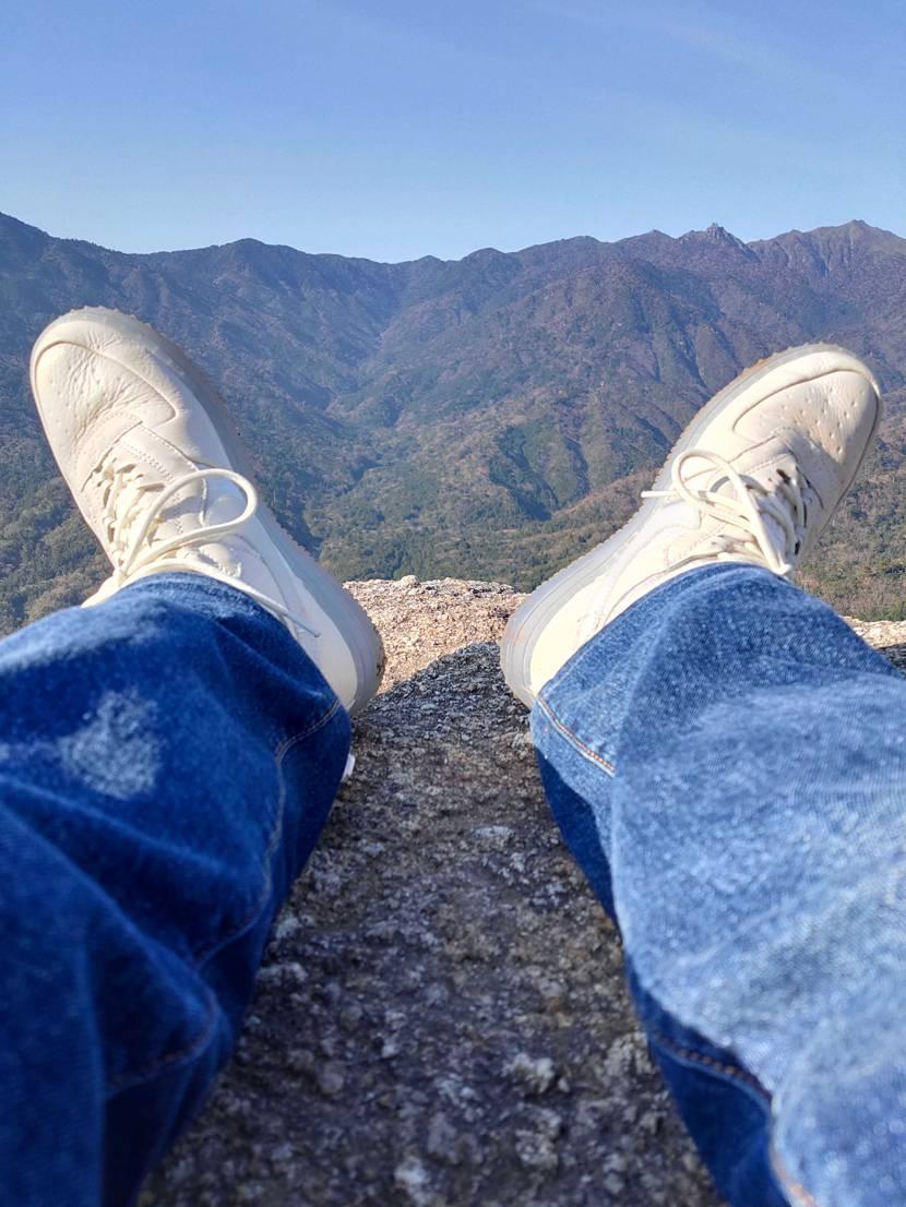 山登りでも使えるし万能な1足。