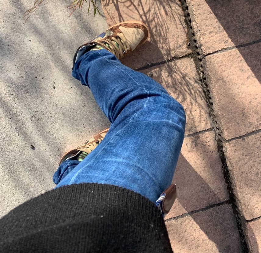 気に入りすぎて、毎週履いてる! 二足目を買ってしまった!!