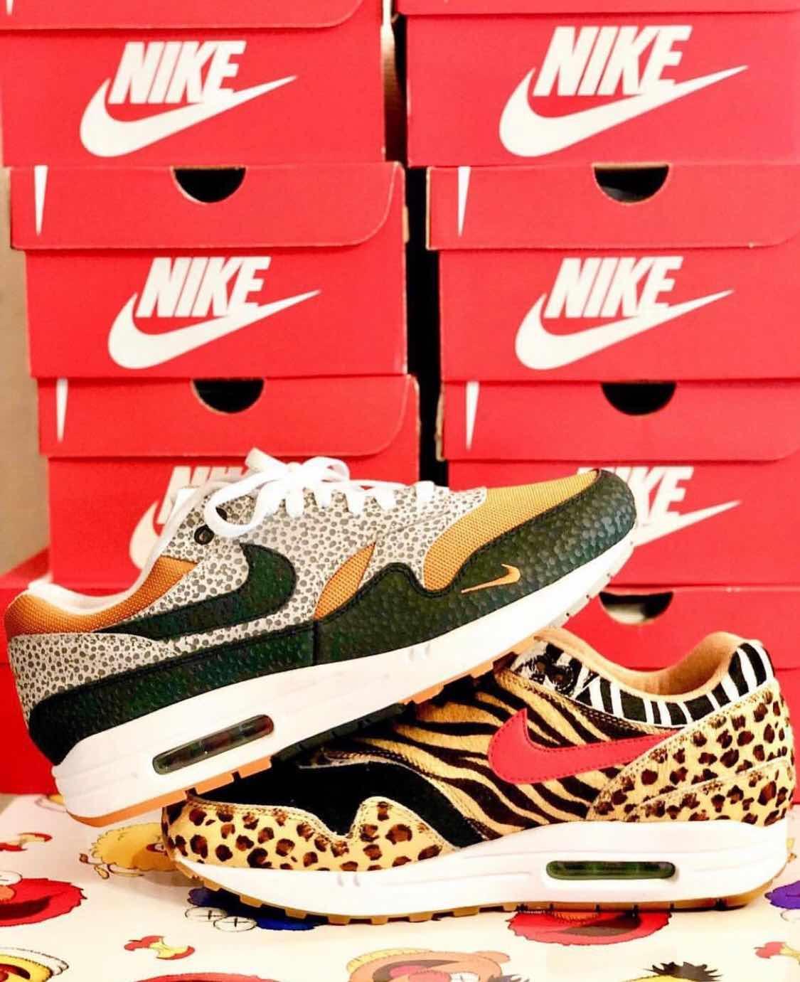 Size? x Nike Air Max 1 What The Safari🦓