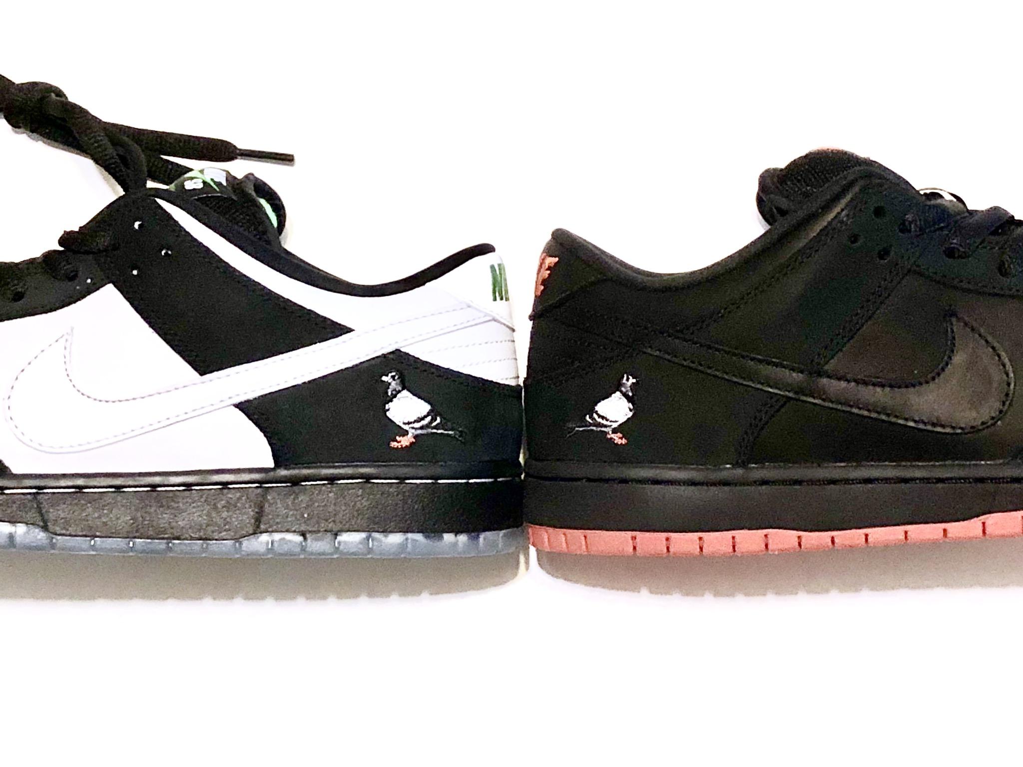 Panda🐼 or Black Pigeon🐦  #Staple #Nike