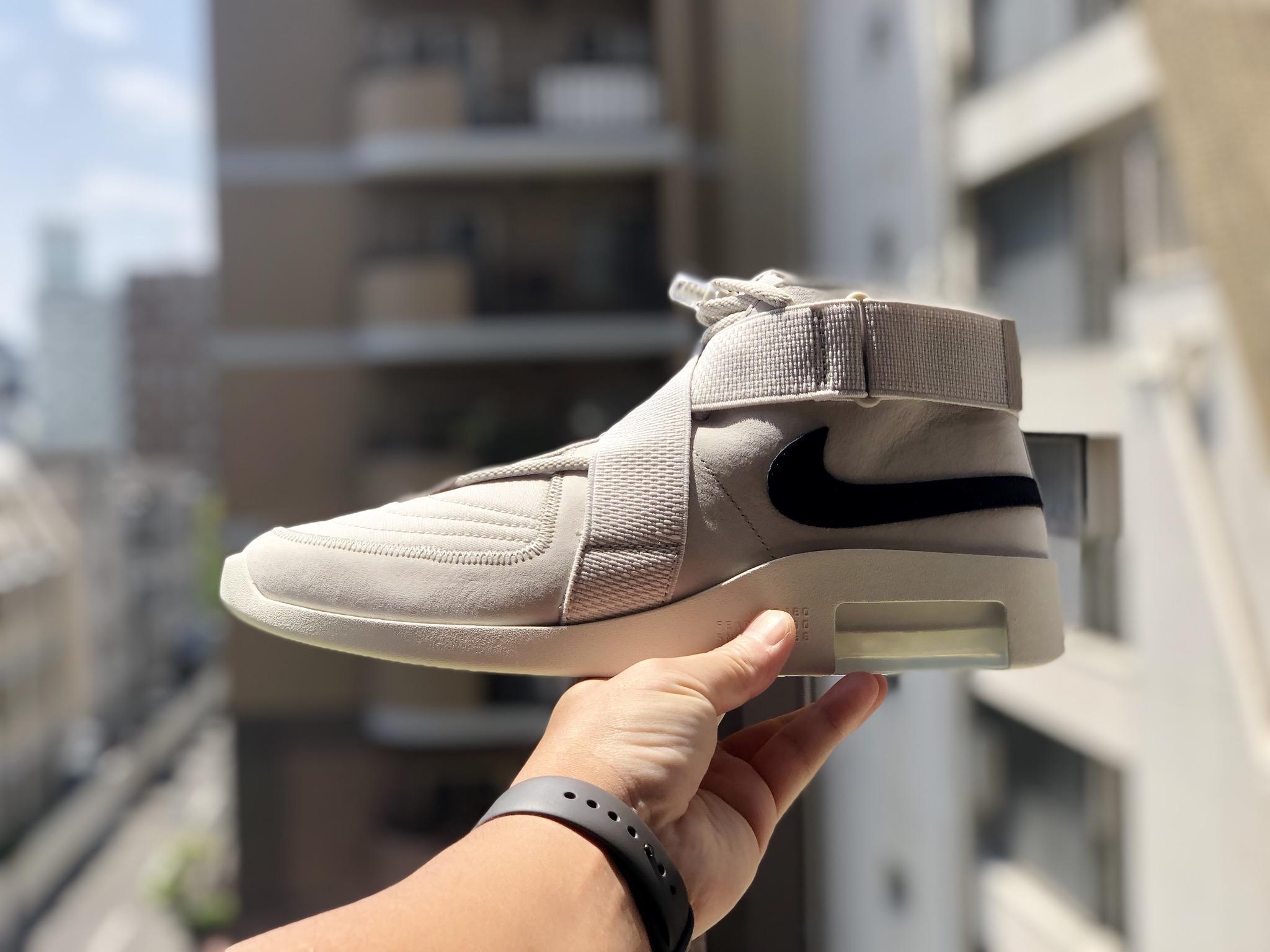 品質はかなり高く、履き心地も最適です👏👏👏  #Nike #NikeFear