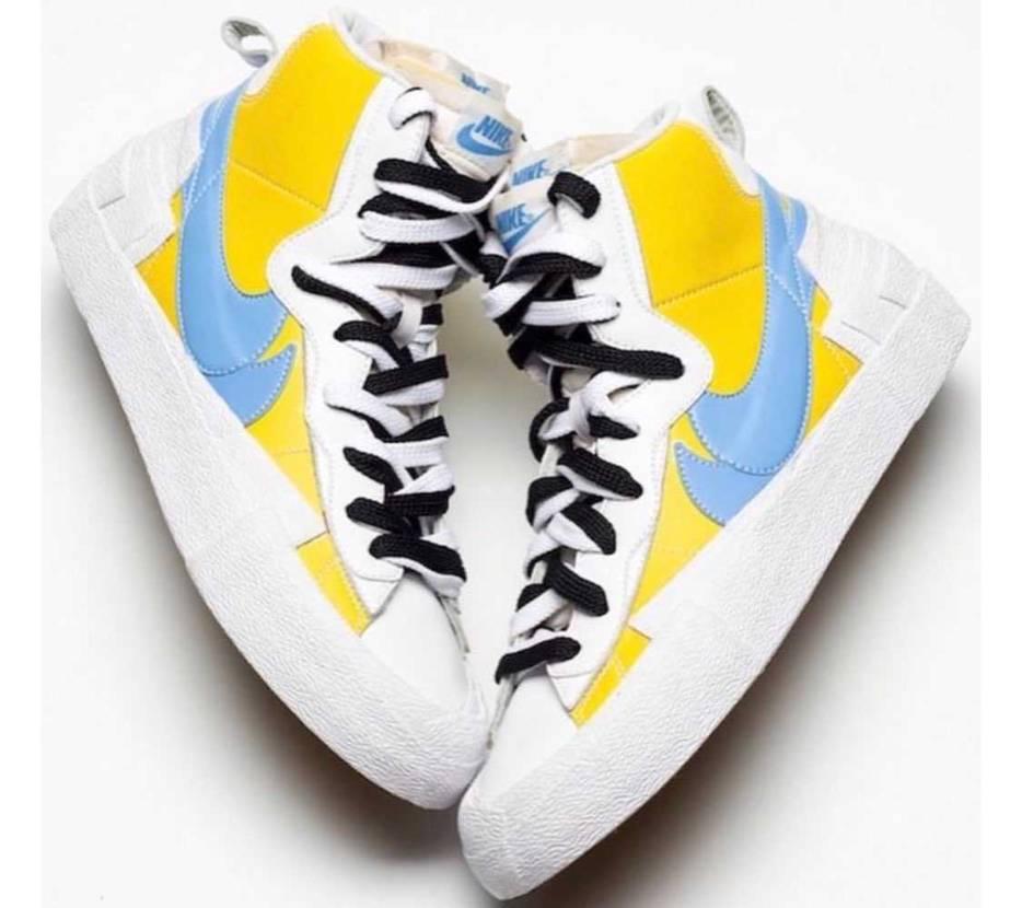 2020SS  sacai x Nike Blazer mid light y