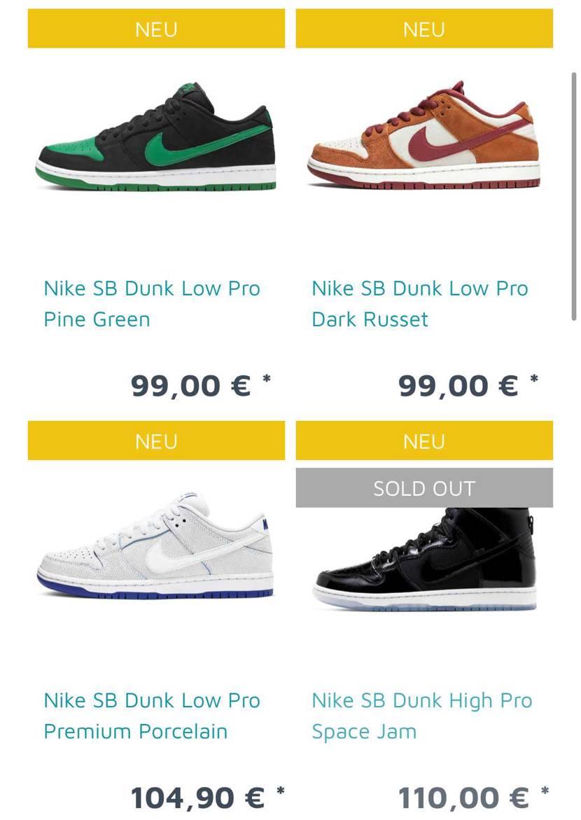 さらっと🐿ってまふ〜 急げ💨💨💨  Nike SB Dunk Low Pro